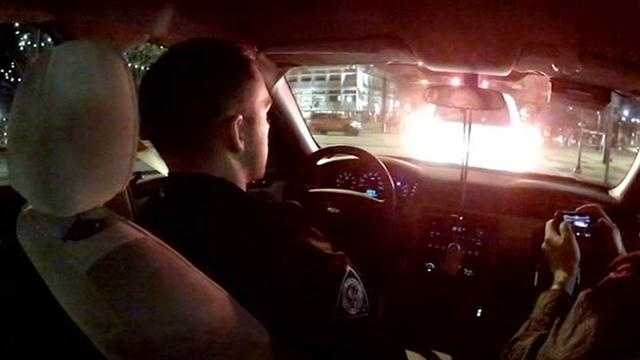 GREENVILLE POLICE DOWNTOWN RIDEALONG