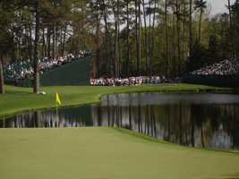 The WYFF News 4 sports team is covering the Masters in Augusta this week. Click through to see pictures of the event.