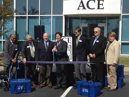 ACE Bakery opened it's first US based baking facility in Gaffney.