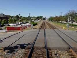 """Operation Lifesaver, working with Norfolk Southern Corporation,conducted a """"Whistle-Stop TRAIN"""" on Friday to focus attention on the main contributing factor involved in motor vehicle-train crashes – DRIVER BEHAVIOR and to promote PEDESTRIAN AWARENESS when crossing railroad tracks."""