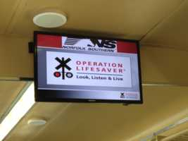 Operation Lifesaver is a non-profit, international continuing public education program designed to end collisions, deaths and injuries at places where roadways cross train tracks, and on railroad rights of way.