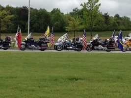 The body of fallen soldier Barrett Austin returned to the Upstate Monday.