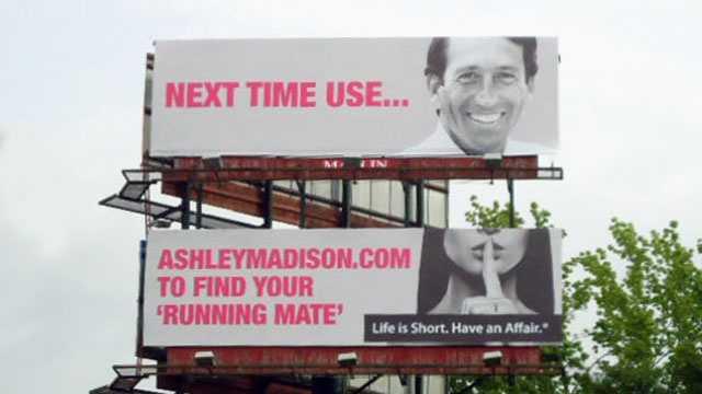 AshleyMadison.com billboard