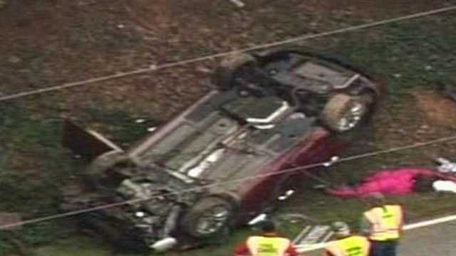 Polk Co. chase crash