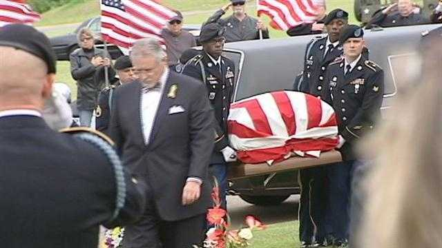 Upstate soldier laid to rest
