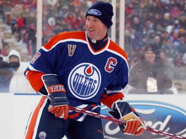 Wayne Gretzky, NHL Hall of Fame member