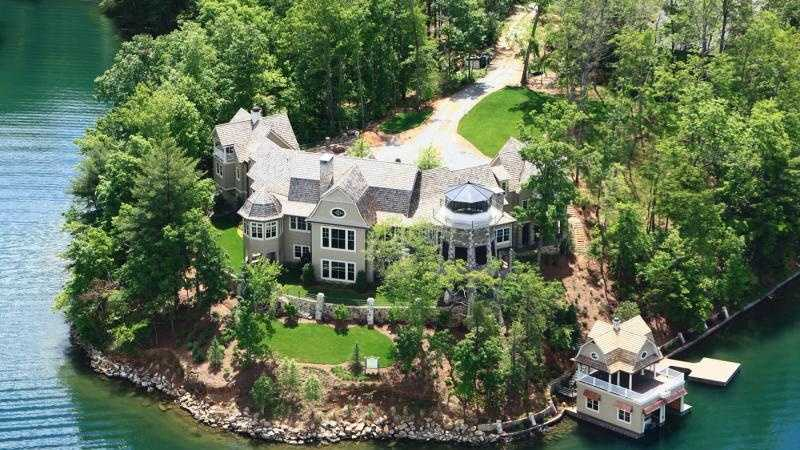 University of Alabama football coach Nick Saban's lake-front estate went to auction June 6.