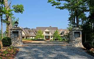 Saban was an investor in the property. He has a lake-front retreat elsewhere on the lake.