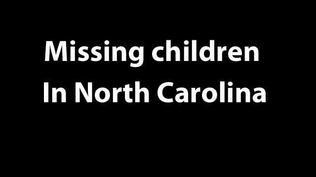 missing chilcren in nc graphic