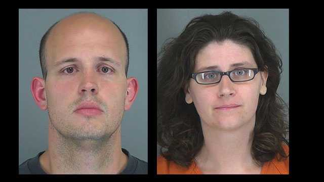 Donald and Joy Bluhm: charged with child neglect
