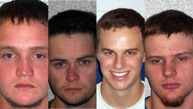 Butch Heatherly, Christopher Smith, Daniel Sumner and Garrett Merrell