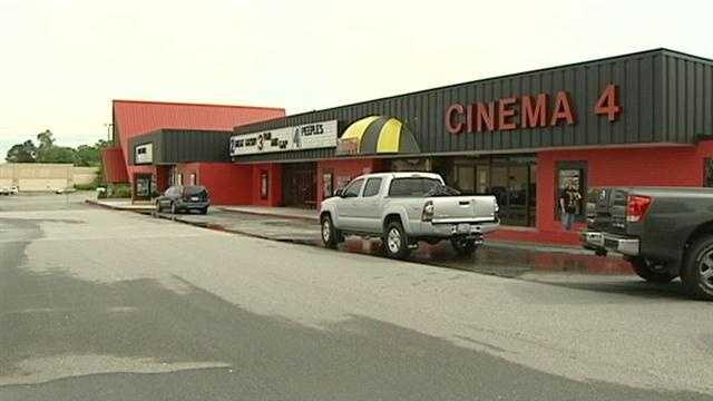 A hometown cinema holds a funraiser to purchase a digital projector.