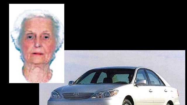 Gwendolyn Johnson, last seen driving 2002 Toyota Camry DZU936