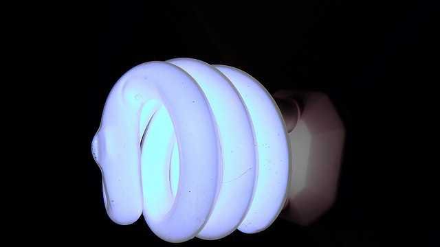 flourescent bulb