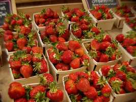 Americans eat on average 3.5 pounds of fresh strawberries each year, plus another 1.8 pounds frozen per capita.