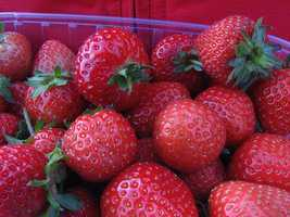 The U.S. is the leading producer of strawberries, and supplies about 20 percent of the world's strawberries.