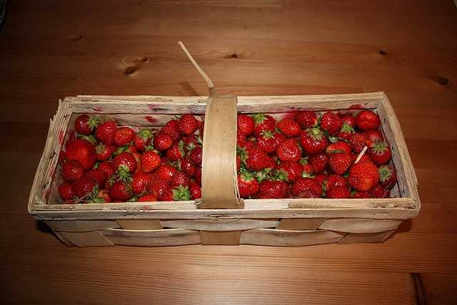 California produces some 88 percent of the strawberries in the U.S., about 2 billion pounds per year.