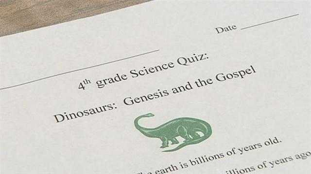 Upstate school's science quiz gets blasted on the Internet