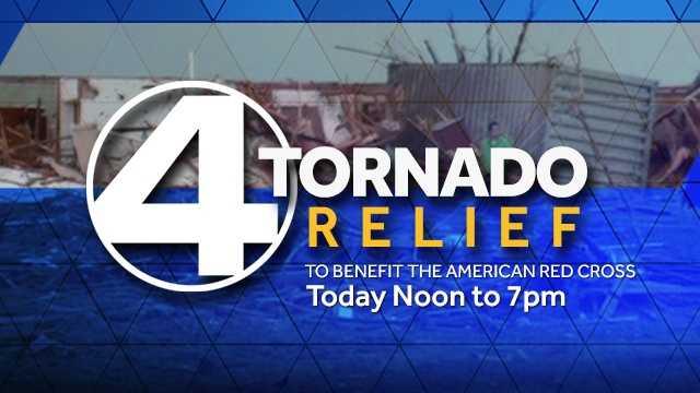 4 Tornado Relief today