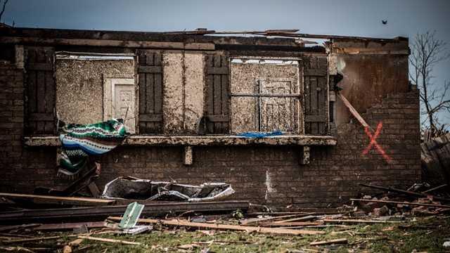 Moore, Okla, tornado damage