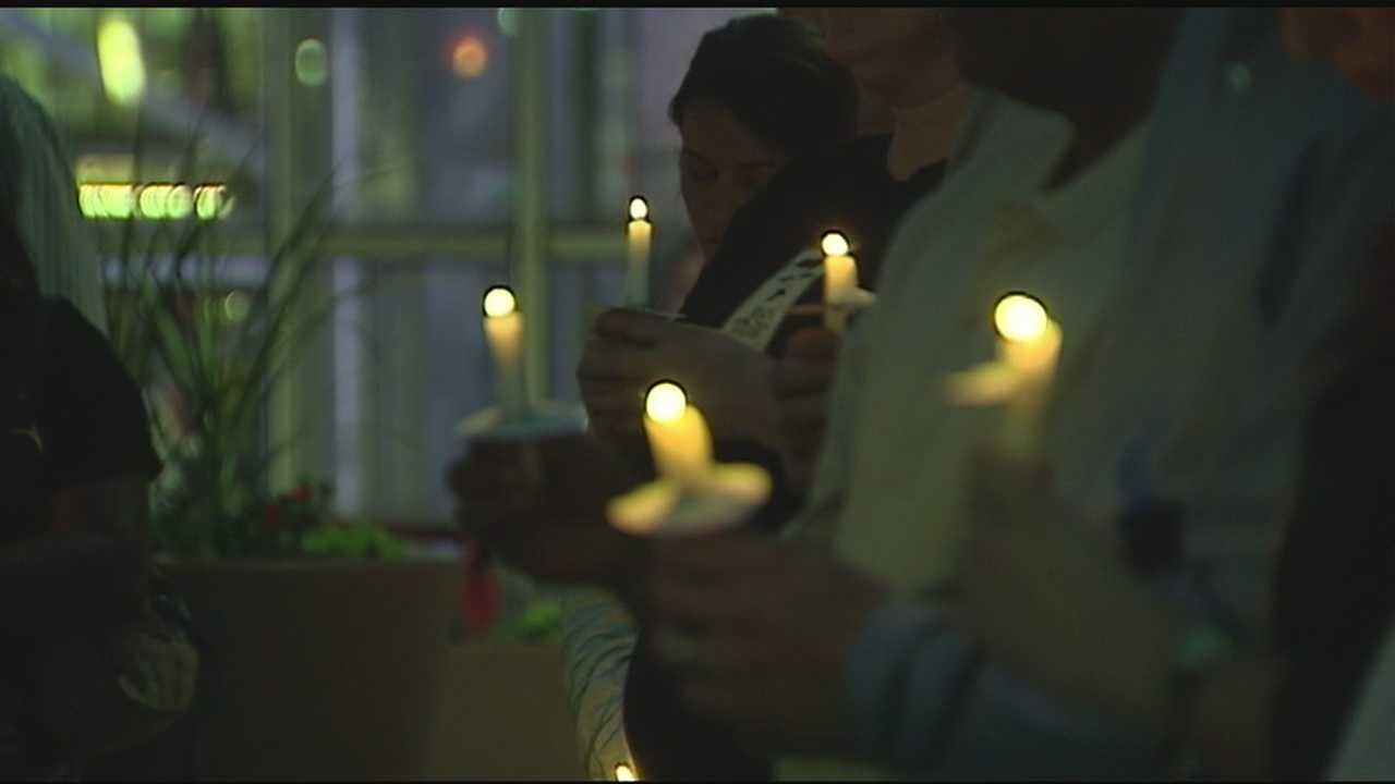 Vigil held in Greenville for tornado victims