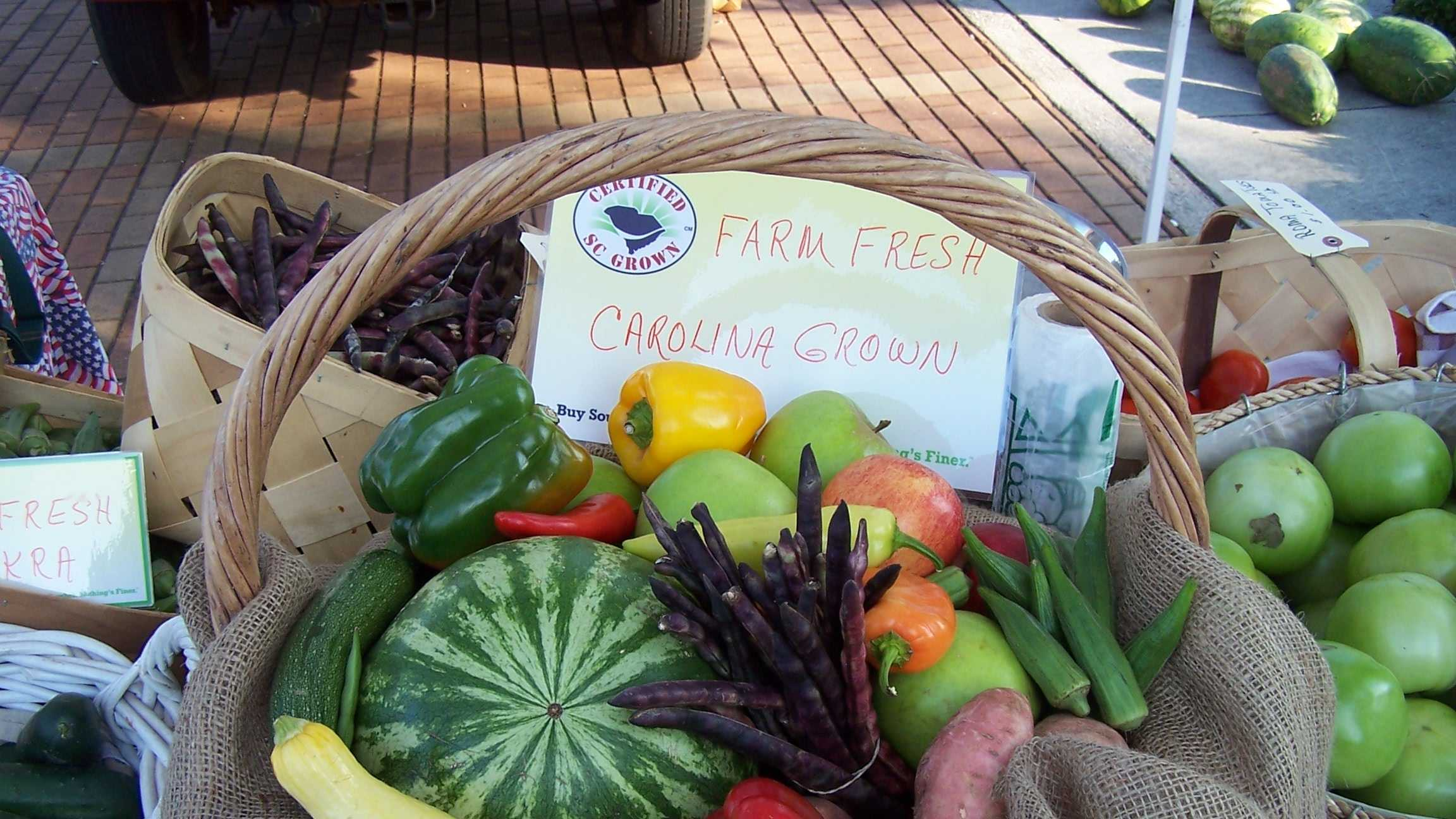 Spartanburg farmer's market