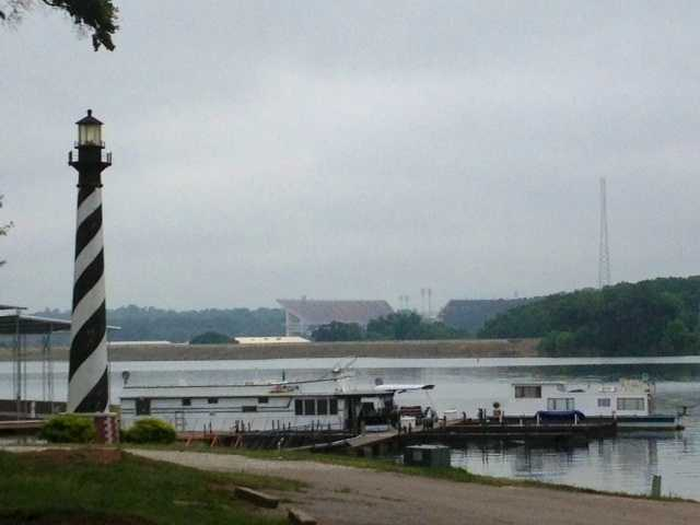 Clemson Marina is located directly across the lake from Clemson University.