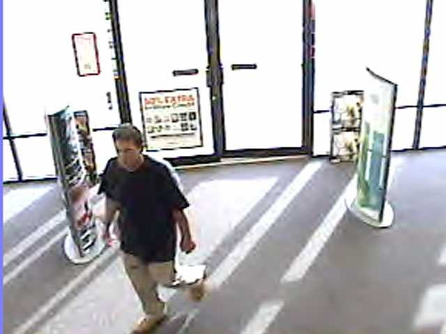 This man, armed with a knife, robbed Game Stop Thursday evening.