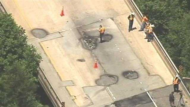 Where are the substandard bridges in the Upstate?
