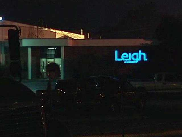 Fire breaks out overnight at Leigh Fibers in Wellford, a plant that burned twice last year.
