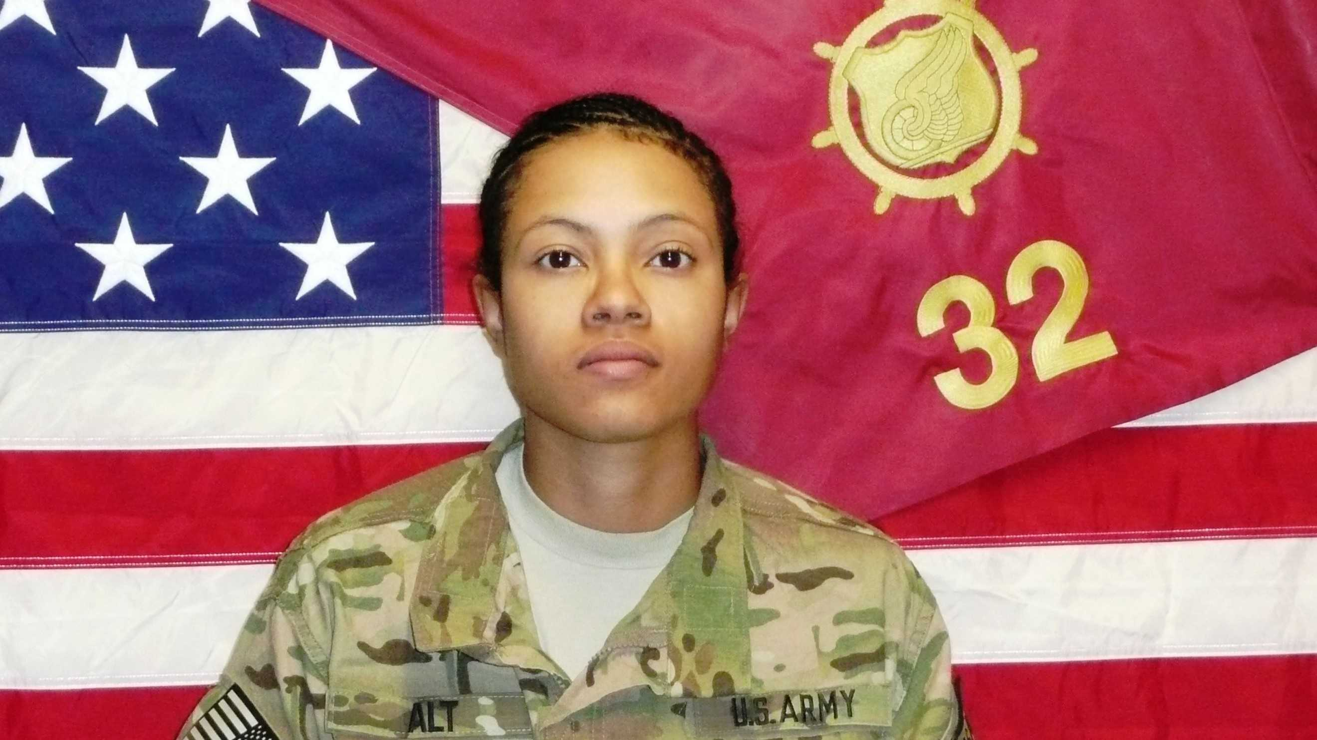 Spc. Ember M. Alt was killed in action on Tuesday during a rocket attack on her unit in Bagram, Afghanistan.