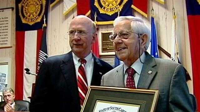 Cecil D. Buchanan awarded