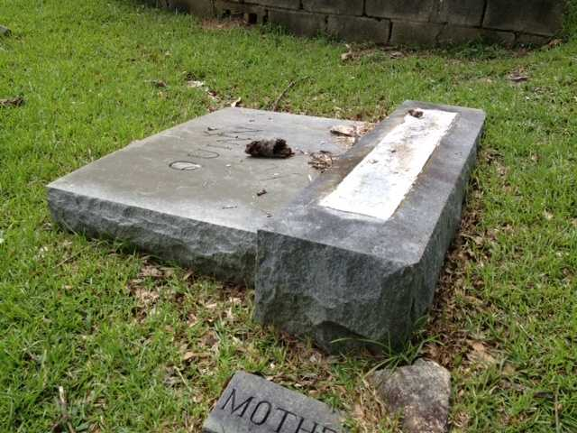 Spartanburg police are investigating vandalism at a cemetery, according to an incident report. FULL STORY