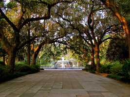8. Forsyth Park, Savannah, Ga.