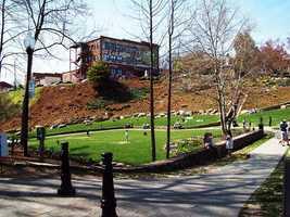 Greenville's Falls Park has made TripAdvisor's Top 10 U.S. Park list for 2013.