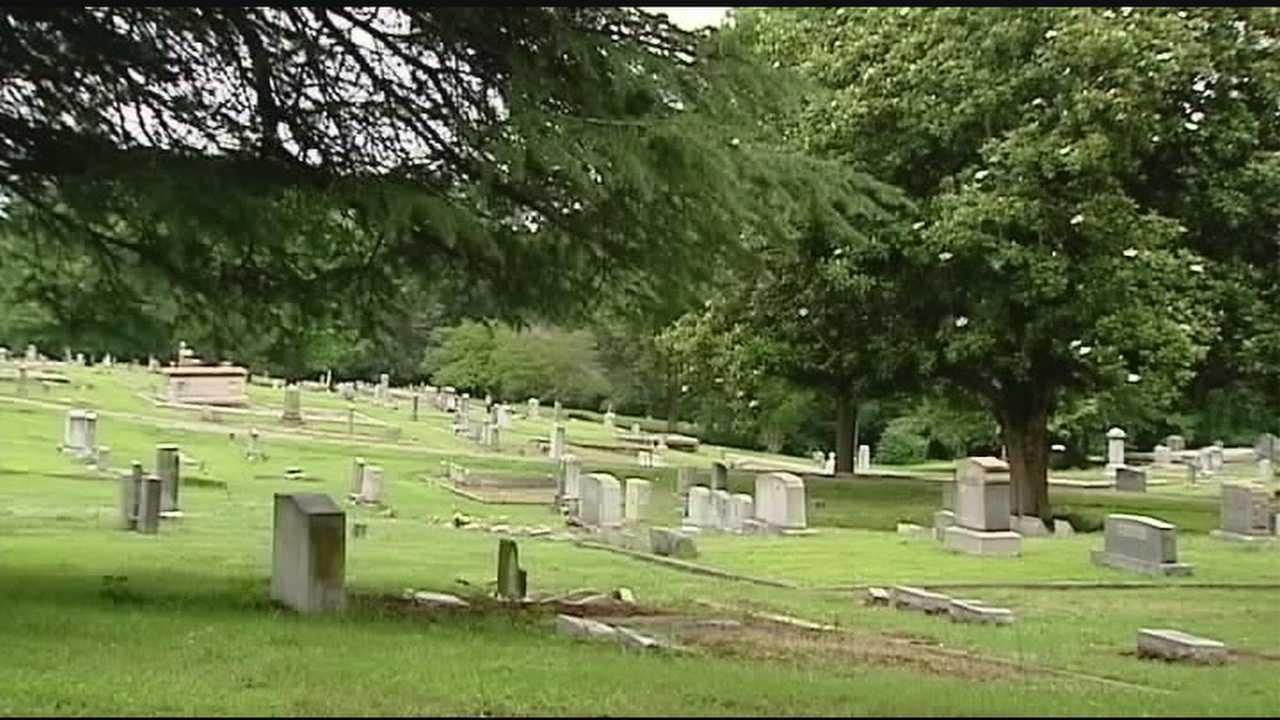 A cemetery targeted by vandalism is getting some hi-tech help.