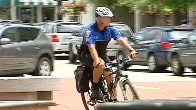Officer bikes across SC for charity
