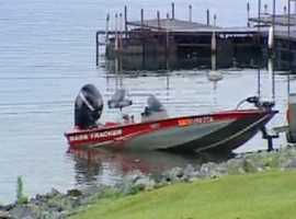 Crews resumed their search at 8 a.m. Friday from a boat dock in Devils Fork State Park.