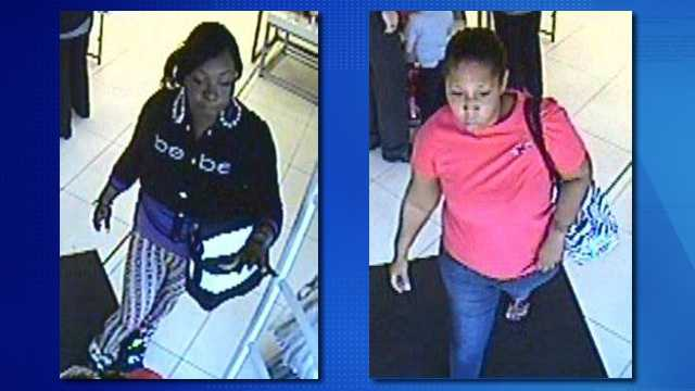 Shoplifting suspects july 18