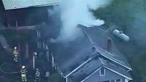 Cleveland Pike Rd. house fire