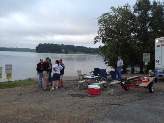 A 15-year old boy is missing on Lake Hartwell after he failed to return to meet his family Sunday night, according to Anderson County officials.