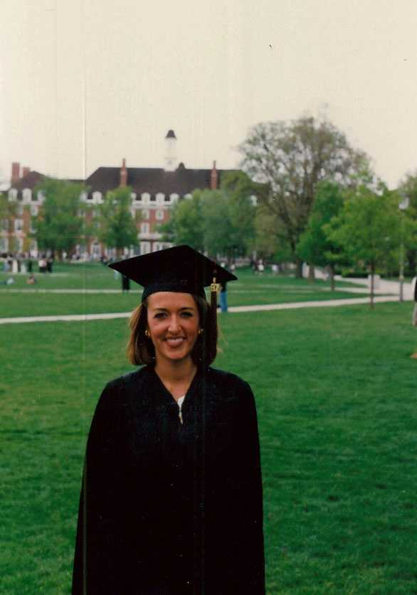 Beth was president of Kappa Delta sorority at the University of Illinois. They won best chapter in the country during her term.