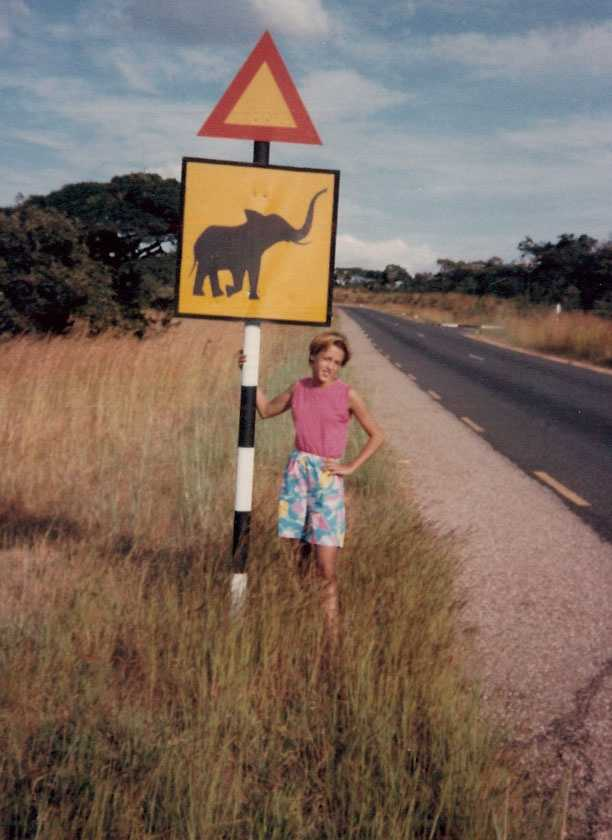 Beth moved to Lusaka, Zambia as a child. Her parents were missionaries.