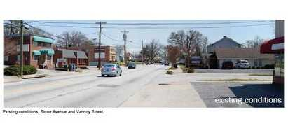 This is Stone Avenue as it is today.