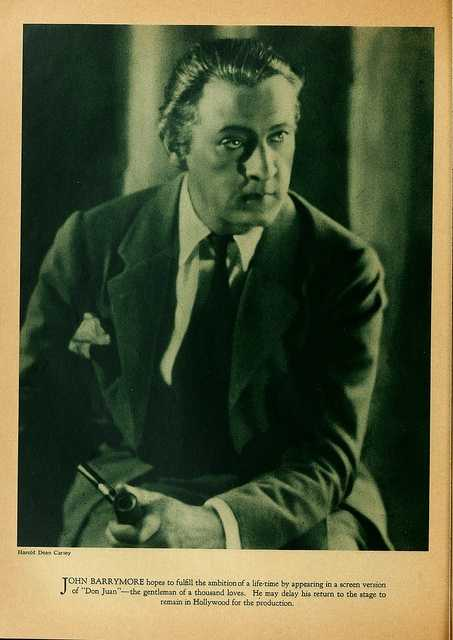 John Barrymore, actor