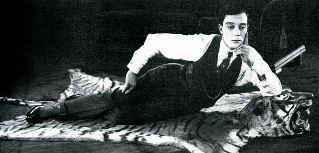 Buster Keaton, silent film star