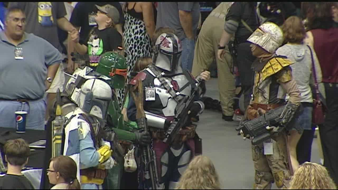 Greenville's first comic book convention, Monstercon, took over Furman University's Timmons Area this weekend.