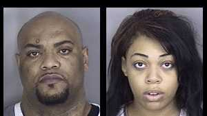 Jermaine Williams, Veronica Melvin: Accused of sex trafficking