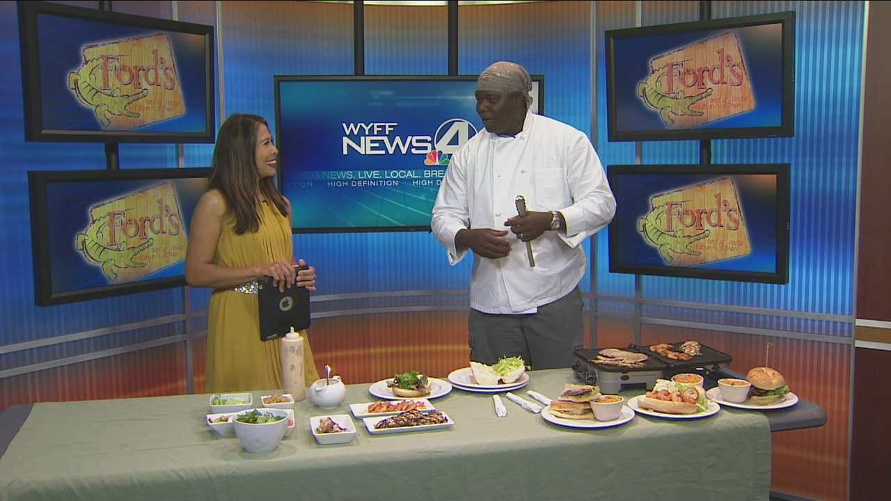 Chef Damion Norton of Ford's Oyster House and Cajun Kitchen shares some specials