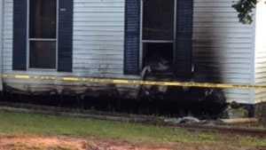 fire in Lyman